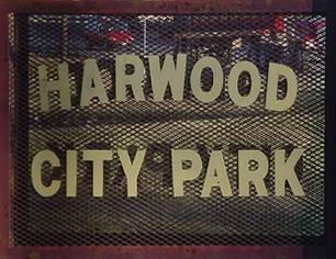 Harwood Park Sign
