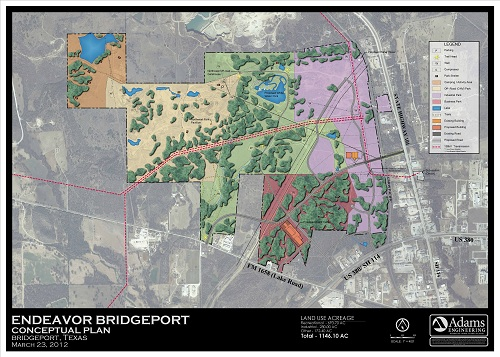 Endeavor Bridgeport Conceptual Plan