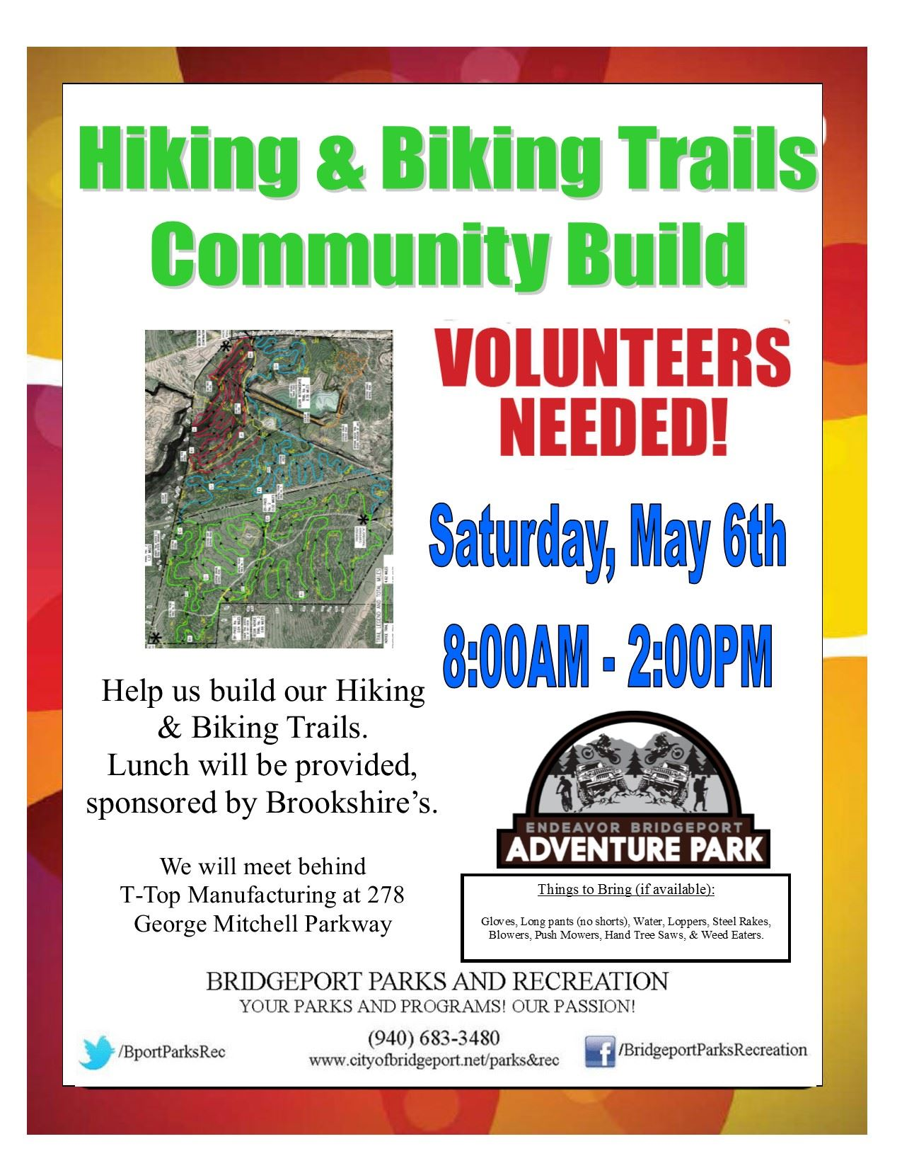 Trail Build Flyer