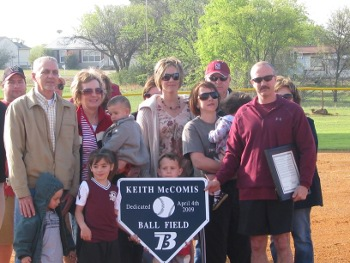 Lawdwin Opening Day - Keith McComis Ballfield