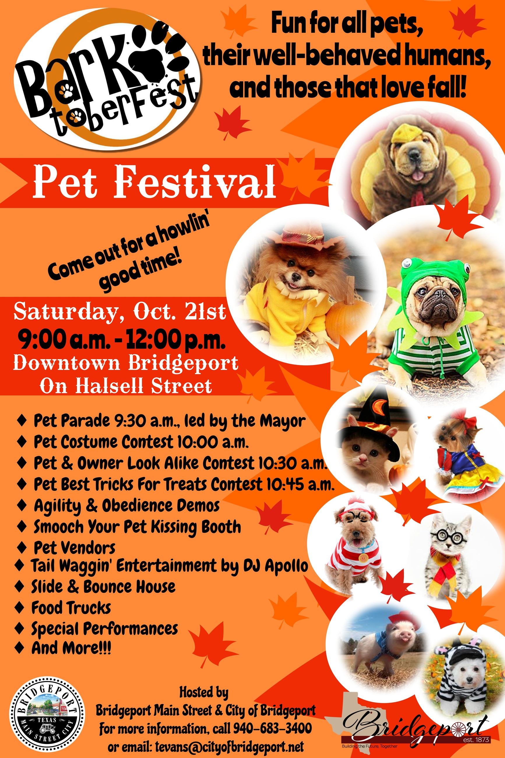 Barktoberfest Official Flier