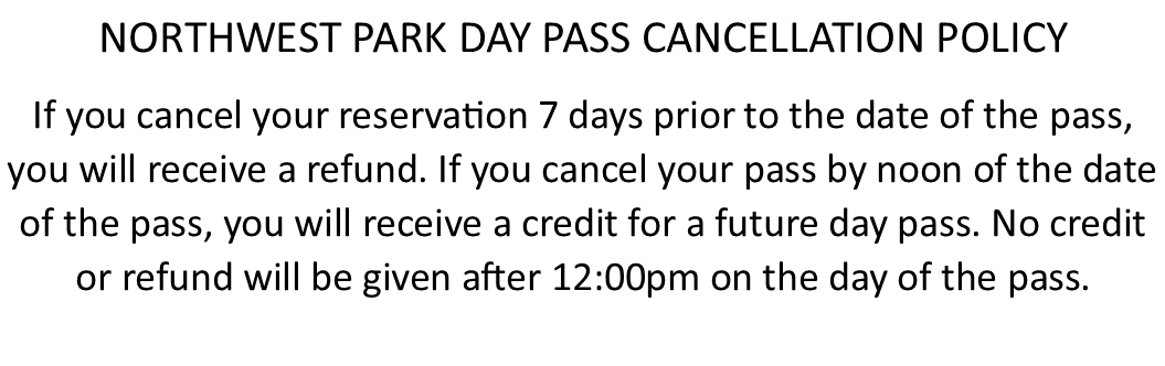 NWP day pass cancellation