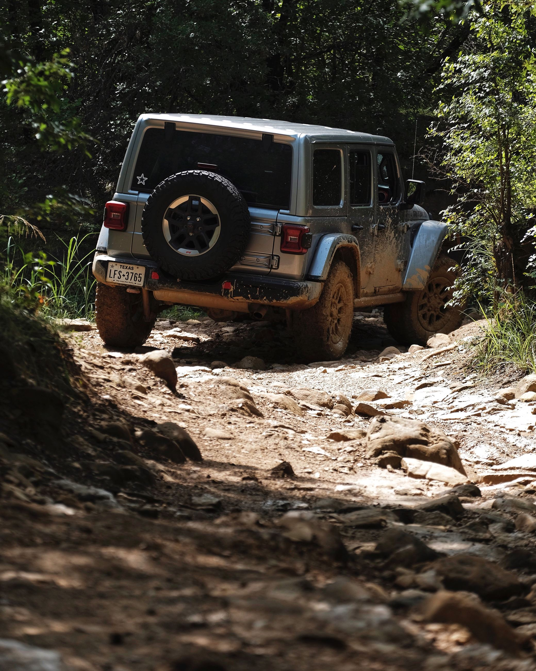 Jeep Trail Shot