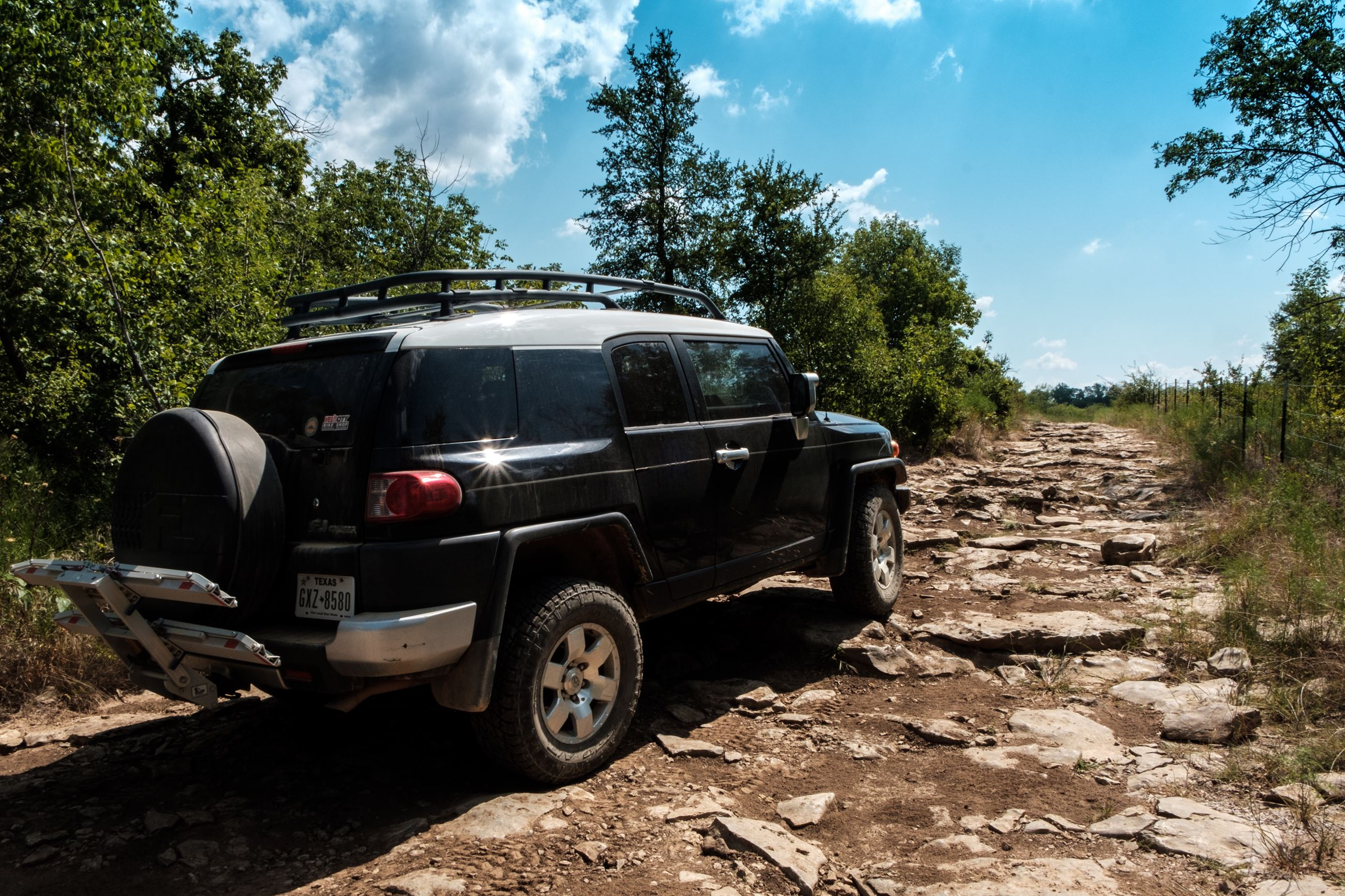 FJ Trail Shot